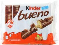 Батончик Kinder Bueno 129г х30