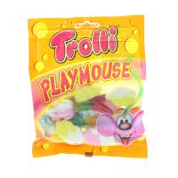 Цукерки Trolli playmouse фруктові жувальні 100г х12