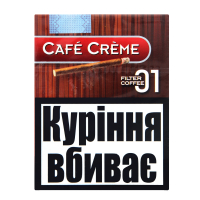 Сигари Cafe Creme Original Filter Coffee 8шт