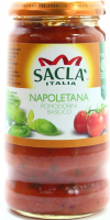 Соус Sacla з помідорами та базиліком 350г