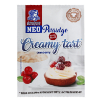 Каша Овсянушка Creamy tart крем.тарт з журавлиною 40г х20