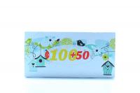 Серветки паперові косметичні Ruta 20*21см, 150 шт.