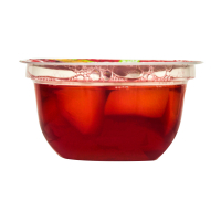 Десерт фруктовий Jolino персик в малиновому желе 150г