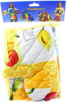 Набір для кухні Господарочка фартух +прихватка +рукавичка