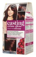 Фарба-догляд для волосся L'Oreal Paris Casting Creme Gloss Без аміаку №554 Пряний Шоколад