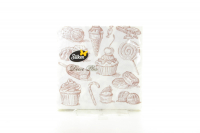 Серветки Silken Decor Plus паперові 2 шари 25шт. х10