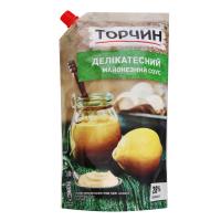 Соус майонезний Торчин Делікатесний 28% д/п 580г