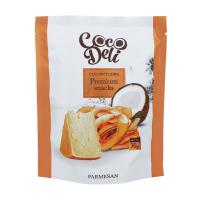 Чіпси Cocodeli кокосові солоні з сиром пармезан 30г