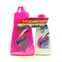 Засіб Vanish Plyn 1л + Vanish Liquid 450мл x6