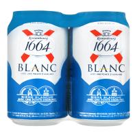 Пиво Kronenbourg 1664 Blanc світле 4 банки х0,33л