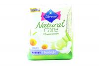 Прокладки Libresse Natural Care Maxi Goodnight 7шт х6