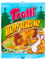 Цукерки Trolli Happy Bears Day 100г х12