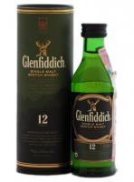 Віскі Glenfiddich 12років 40% 0,050л x6