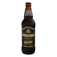 Пиво Перша Приватна Броварня Бочкове темне нефільтроване 4.8% 0,5л с/б