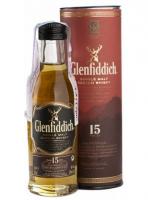 Віскі Glenfiddich 15років 40% 0,05л x6