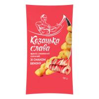 Арахіс Козацька Слава смажений солоний Бекон 90г х50