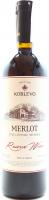 Вино Koblevo Merlot червоне сухе 0,75л х6