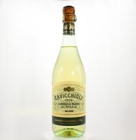 Вино ігристе Cavicchioli Lambrusco Emilia Bianco Dolce напівсолодке біле 7,5% 0.75л
