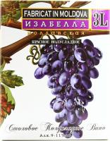 Вино Alianta B&B Isabella червоне нап/солодке 3л