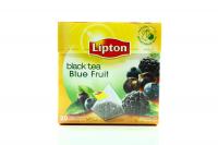 Чай Lipton чорний з лісовими ягодами 20пак 34г х12