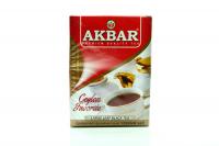 Чай Akbar цейлонський крупнолистовий чорний 100г х20