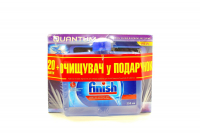 Засіб Finish д/мит.пос.у ПММ 20таб.+очищувач д/ПММ 250мл х6