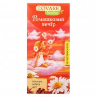 Чай Lovare квітковий Ромашковий вечір 20пак.*1,8г