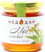 Мед Медодар Липовий натуральний квітковий 250г