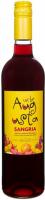 Винo Urbe Augusta Vinho Verde Sangria ароматизоване напівсолодке червоне 8% 0,75л