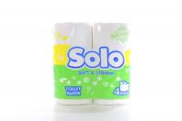 Туалетний папір Solo Soft & Strong білий 4шт х6