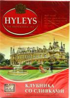 Чай Hyleys чорний з полуницею та вершками 100г х20