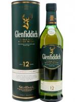 Віскі Glenfiddich 12років 43% 1л в тубі х2