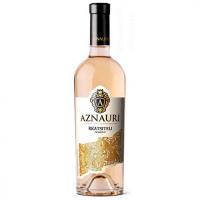 Вино Aznauri Rkatsiteli Ркацителі сухе біле 9,5-14% 1,5л
