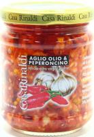 Соус Casa Rinaldi з часником, олією, гострим перцем 190г