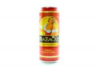 Пиво Prazacka світле з/б 0,5л х6