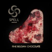 Шоколад Spell Білий шоколад, журавлина, вишня та малина 85г