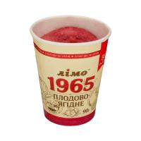 Морозиво Лімо Пломбір 1965 плодово-ягідне 90г