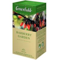 Чай Greenfield Barberry garden чорний 25*1,5г