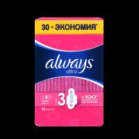 Гігієнічні прокладки Always Ultra Super, 30 шт.