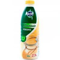 Ряжанка Лактонія 2,5%  пляшка 870г х10