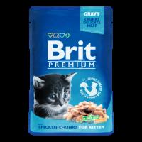 Корм для котів Brit Premium з куркою 100г