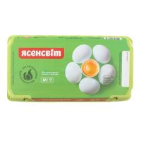 Яйця курячі Ясенсвіт 1-ї категорії 18шт.