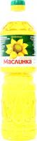 Олія соняшникова Маслинка нерафінована 870мл
