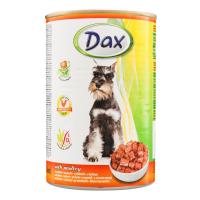 Консерва для собак DAX птиця 415г