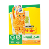 Корм Purina Friskies Indoor Cats курка,садова трава 270г х10
