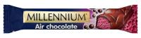 Шоколад Millenium молочний пористий малина 32г