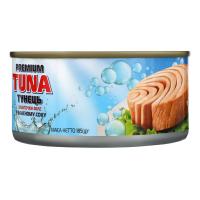 Тунець Polar Seafood Premium Tuna шматочки в в/с ж/б 185г х48