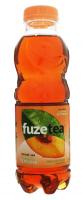 Напій Fuze tea чорний чай зі смаком персика 0,5л