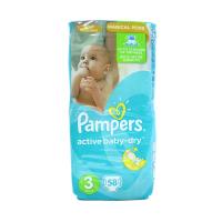 Підгузники Pampers Active Baby-Dry Midi 3 4-9кг 58шт.