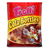 Цукерки Trolli Cola Bottles 100г х12